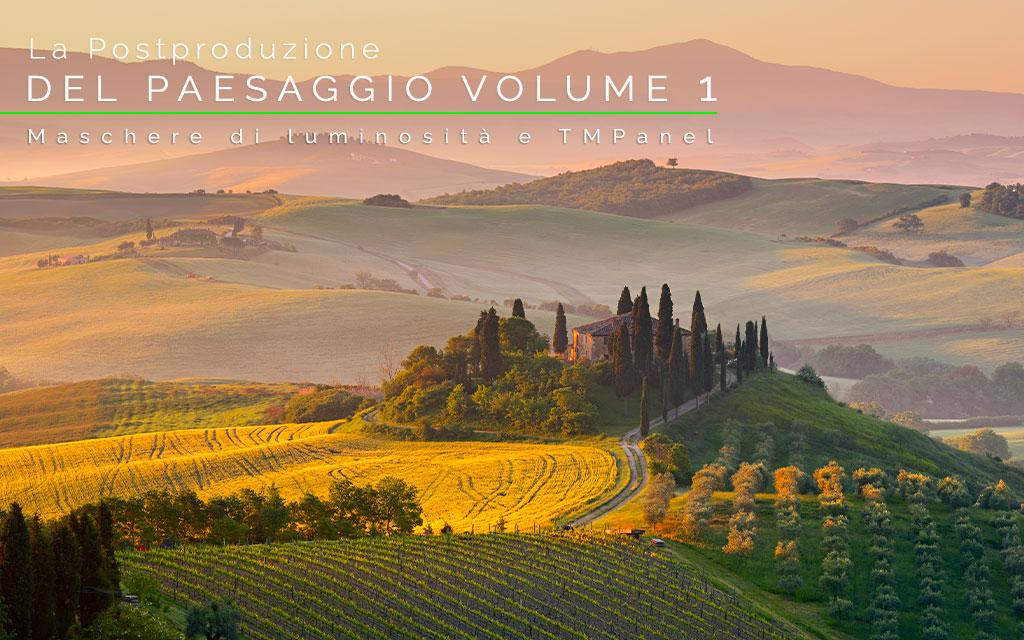immagine di copertina del corso di postproduzione del paesaggio vol 1